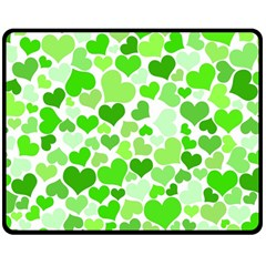 Heart 2014 0910 Double Sided Fleece Blanket (Medium)
