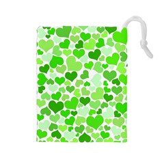 Heart 2014 0910 Drawstring Pouches (large)