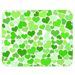 Heart 2014 0910 Double Sided Flano Blanket (medium)