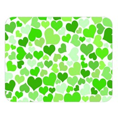 Heart 2014 0910 Double Sided Flano Blanket (large)