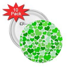 Heart 2014 0911 2 25  Buttons (10 Pack)