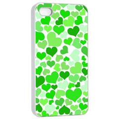 Heart 2014 0911 Apple iPhone 4/4s Seamless Case (White)