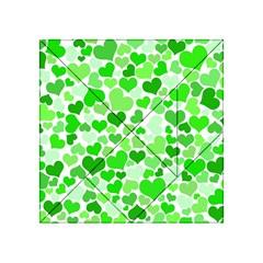 Heart 2014 0911 Acrylic Tangram Puzzle (4  X 4 )