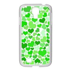 Heart 2014 0911 Samsung Galaxy S4 I9500/ I9505 Case (white)