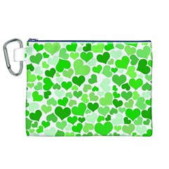Heart 2014 0911 Canvas Cosmetic Bag (xl)