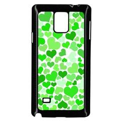 Heart 2014 0911 Samsung Galaxy Note 4 Case (black)