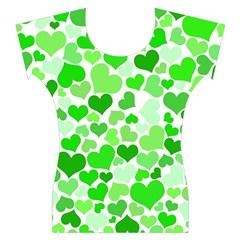 Heart 2014 0911 Women s Cap Sleeve Top