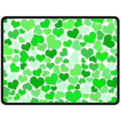Heart 2014 0912 Fleece Blanket (large)