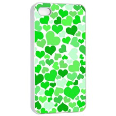 Heart 2014 0912 Apple Iphone 4/4s Seamless Case (white)