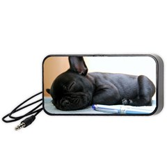 French Bulldog Puppy Portable Speaker (Black)