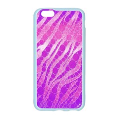 Florescent Pink Zebra Pattern  Apple Seamless iPhone 6 Case (Color)