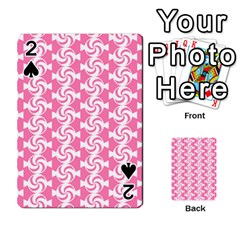 Cute Candy Illustration Pattern For Kids And Kids At Heart Playing Cards 54 Designs