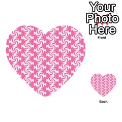 Cute Candy Illustration Pattern For Kids And Kids At Heart Multi-purpose Cards (Heart)