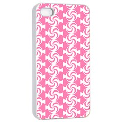 Cute Candy Illustration Pattern For Kids And Kids At Heart Apple iPhone 4/4s Seamless Case (White)