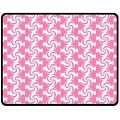 Cute Candy Illustration Pattern For Kids And Kids At Heart Double Sided Fleece Blanket (Medium)