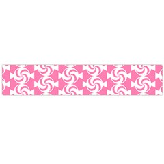Cute Candy Illustration Pattern For Kids And Kids At Heart Flano Scarf (large)
