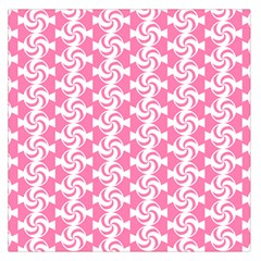 Cute Candy Illustration Pattern For Kids And Kids At Heart Large Satin Scarf (square)