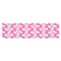 Cute Candy Illustration Pattern For Kids And Kids At Heart Satin Scarf (oblong)