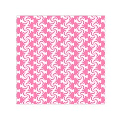 Cute Candy Illustration Pattern For Kids And Kids At Heart Small Satin Scarf (Square)