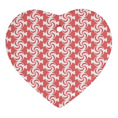 Candy Illustration Pattern  Ornament (heart)