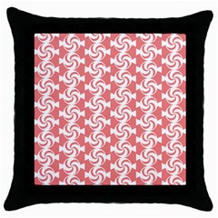 Candy Illustration Pattern  Throw Pillow Cases (black)