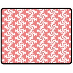 Candy Illustration Pattern  Double Sided Fleece Blanket (medium)