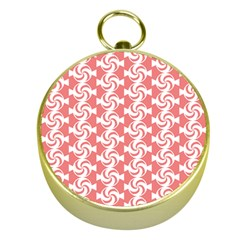 Candy Illustration Pattern  Gold Compasses