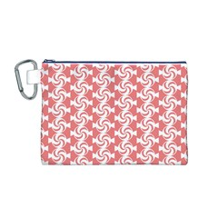 Candy Illustration Pattern  Canvas Cosmetic Bag (m)