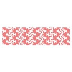 Candy Illustration Pattern  Satin Scarf (Oblong)
