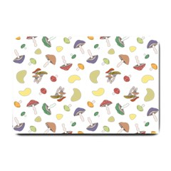 Mushrooms Pattern Small Doormat
