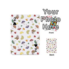 Mushrooms Pattern Playing Cards 54 (Mini)