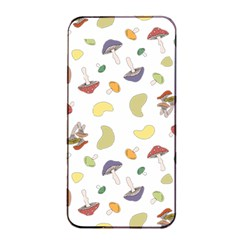 Mushrooms Pattern Apple iPhone 4/4s Seamless Case (Black)