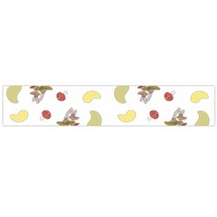 Mushrooms Pattern Flano Scarf (Large)