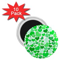Heart 2014 0913 1 75  Magnets (10 Pack)