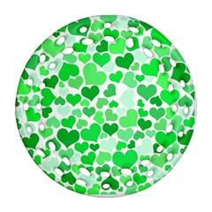 Heart 2014 0913 Ornament (Round Filigree)