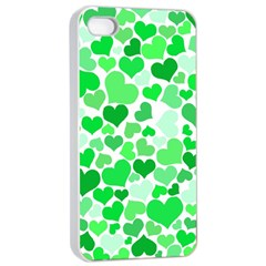 Heart 2014 0913 Apple Iphone 4/4s Seamless Case (white)