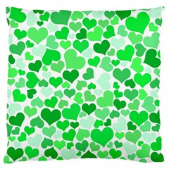 Heart 2014 0913 Large Flano Cushion Cases (one Side)