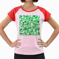 Heart 2014 0914 Women s Cap Sleeve T-Shirt