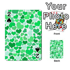 Heart 2014 0914 Playing Cards 54 Designs