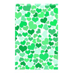 Heart 2014 0914 Shower Curtain 48  X 72  (small)