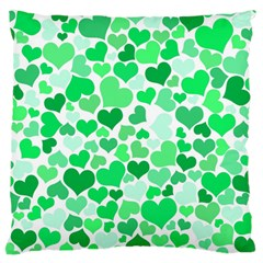 Heart 2014 0914 Large Flano Cushion Cases (two Sides)