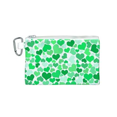 Heart 2014 0914 Canvas Cosmetic Bag (s)