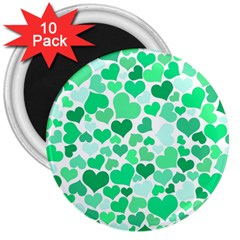 Heart 2014 0915 3  Magnets (10 Pack)