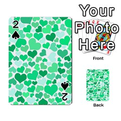 Heart 2014 0915 Playing Cards 54 Designs