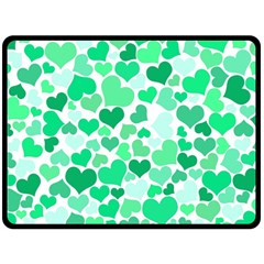 Heart 2014 0915 Fleece Blanket (Large)