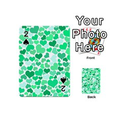 Heart 2014 0915 Playing Cards 54 (Mini)