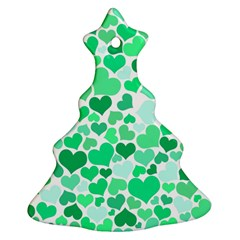 Heart 2014 0915 Christmas Tree Ornament (2 Sides)