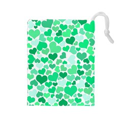 Heart 2014 0915 Drawstring Pouches (large)