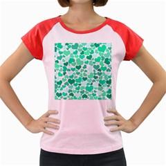 Heart 2014 0916 Women s Cap Sleeve T Shirt