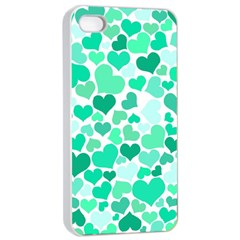 Heart 2014 0916 Apple iPhone 4/4s Seamless Case (White)